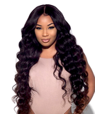 "13"" X 4"" LACE FRONTAL - BODY WAVE + 3 BUNDLES(#1B)"