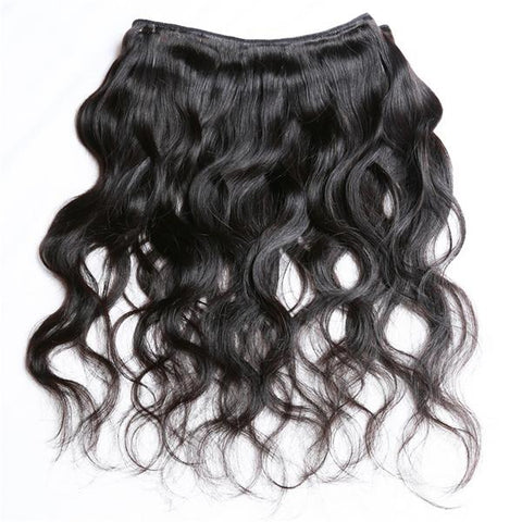 "13"" X 4"" LACE FRONTAL -LOOSE WAVE + 2 BUNDLES"