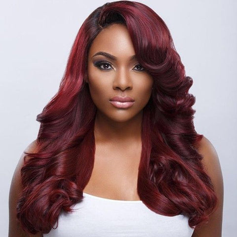 CLOSURE + BUNDLE DEAL - #1B 99j BODY WAVE