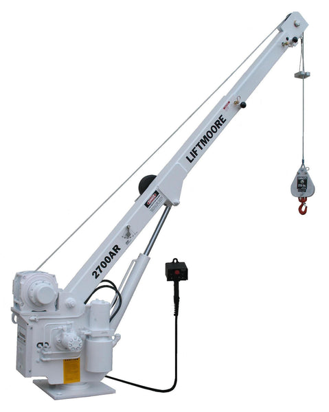 Liftmoore 2700AR-14 WI (Wireless) Truck Crane - Power Boom & Rotation