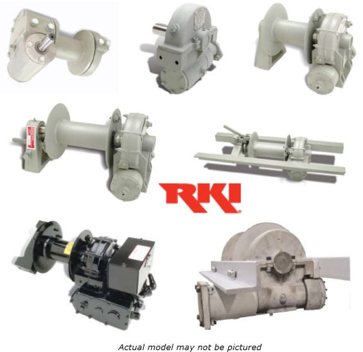 RKI 08MLO-2RSSR Mechanical Winch