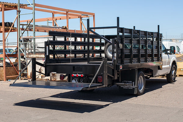 "G2-92-1650 TP35 Tommy Lift Flatbed & Van Lift Gate - 35"" Deep Platform"