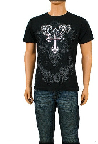 Men's Front and back Design Tee Shirt - Comfort Styles