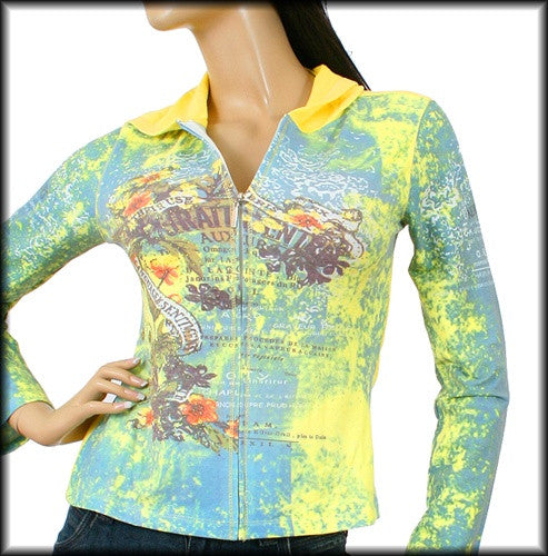 Sexy Angel Long Sleeve Yellow Print Hoodie S, M, L, XL - Comfort Styles