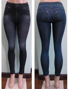 Women's Jeggings Leggings (One Size Fit Most) - Comfort Styles