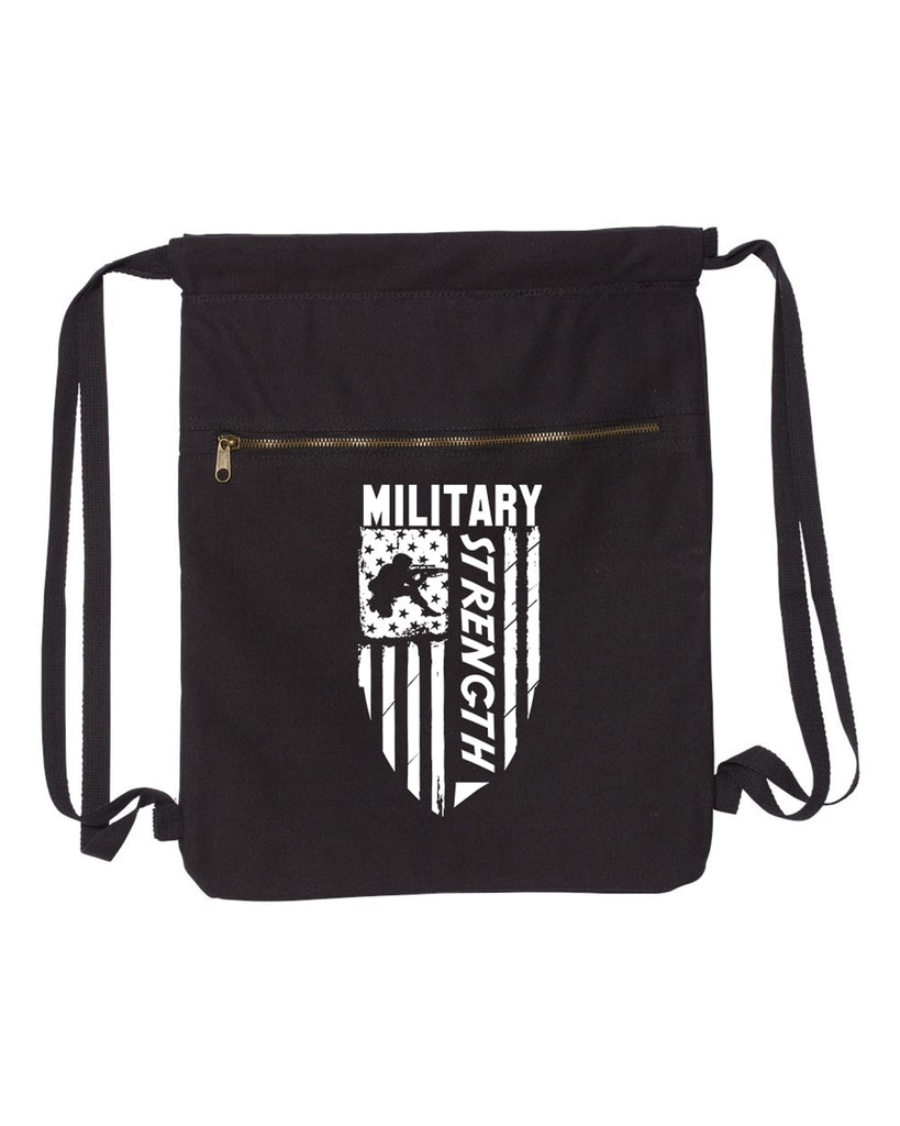 Military Strength-Military Strength Canvas Bag (Bags Collection) - Comfort Styles