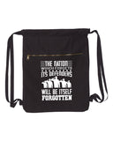 The Nation Which Forgets Military Canvas Bag (Bags Collection)