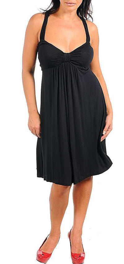 Zenobia Black Fashion Maxi dress - plus size