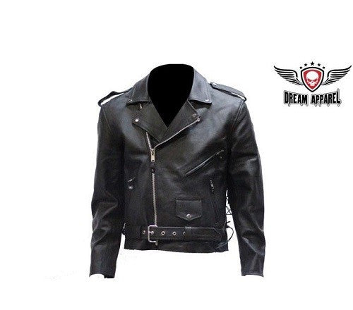 Men Motorcycle Jacket with Z/o Lining - Comfort Styles