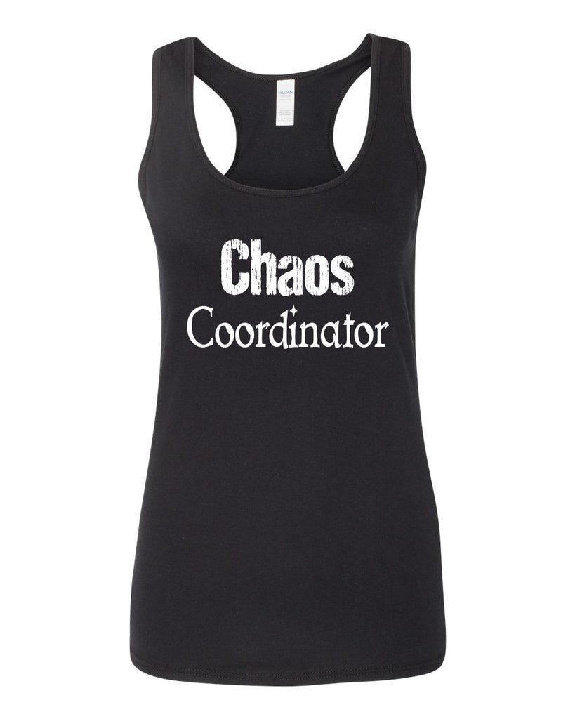Women's SoftStyle Chaos Coordinator Racerback Tank Top - Comfort Styles