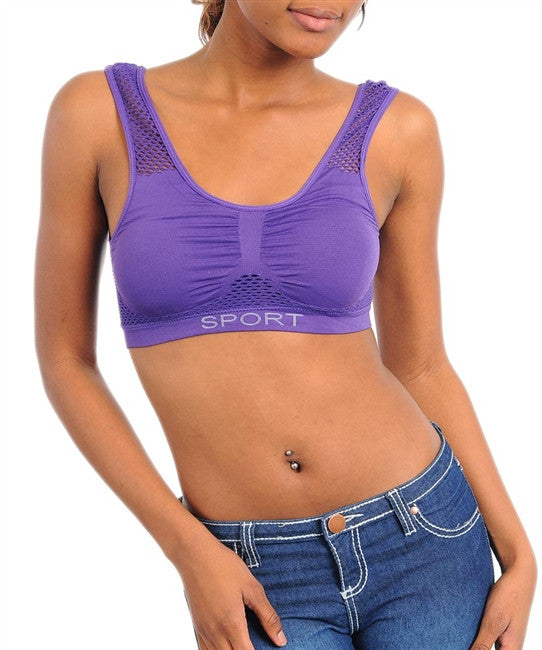 Ladies Sports Bras - Comfort Styles