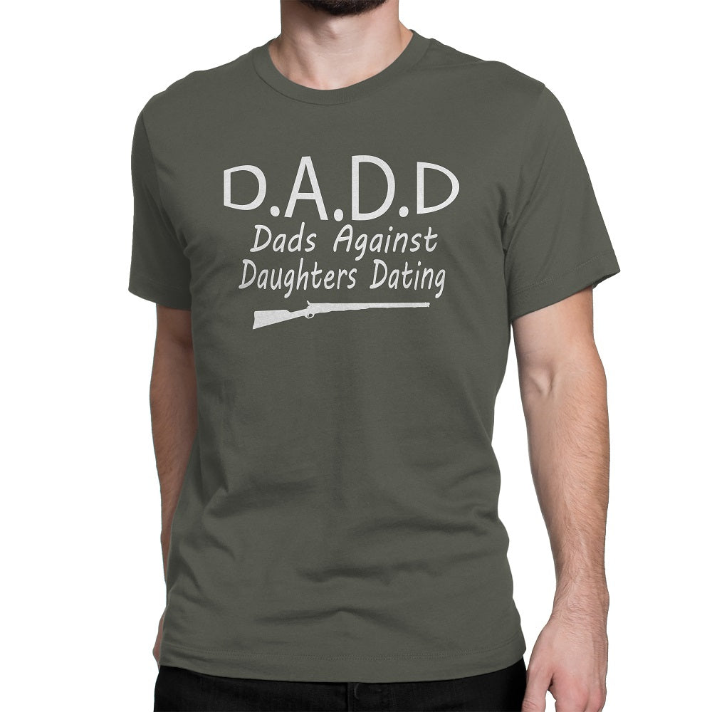 ed573337f Men's D.A.D.D Dads Against Daughters Dating T-Shirts – Comfort Styles