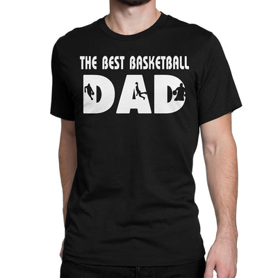 Men's The Best Basketball Dad T-Shirts - Comfort Styles