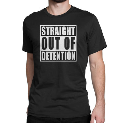 Men's Straight Out Of Detention Tee Shirts - Comfort Styles