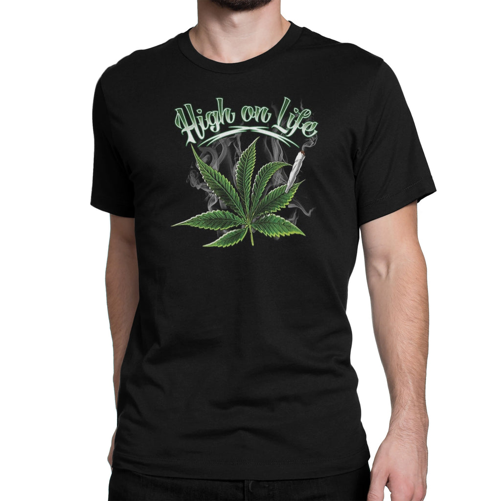 Men's High On Life T-Shirt - Comfort Styles