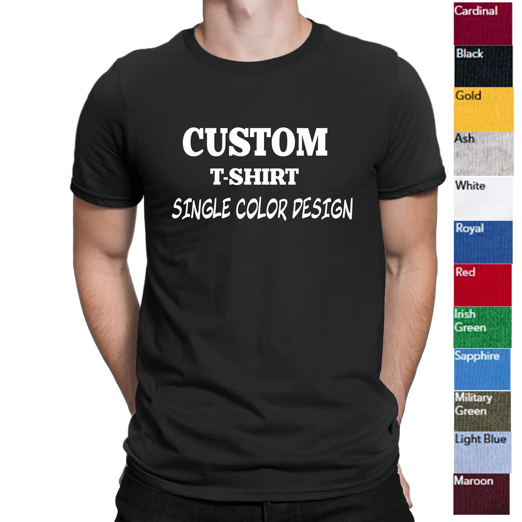 Mens Custom Shirt-Custom T-shirt-Personalized T-shirts - Comfort Styles