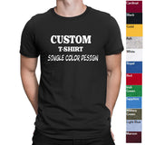 Mens Custom Shirt-Custom T-shirt-Personalized T-shirts