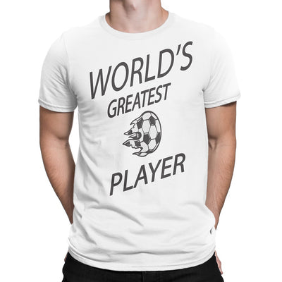 Men's World's Greatest Soccer Player T-Shirts - Comfort Styles