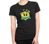 Women's Graphic Marijuana High Face T-Shirts