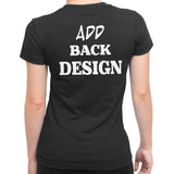 Women's Back Design Upgrade For your T-shirts