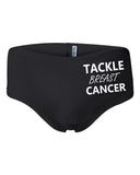 Women's Tackle Breast Cancer Cotton Spandex Shortie