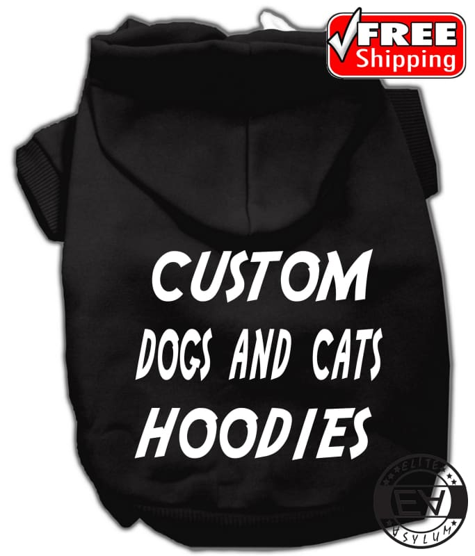 Custom Dog And Cat Hoodies - Comfort Styles