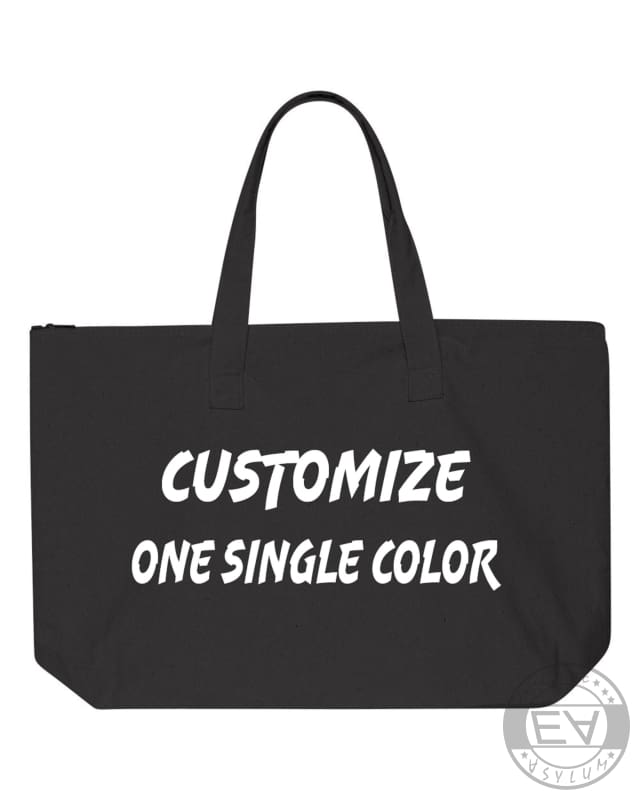 Customizable Tote Bag, Create Your Own Tote Bag, Customize Bags - Comfort Styles