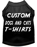 Custom Dog And Cat T-Shirts