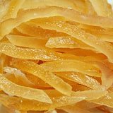 Glazed Lemon Peel Strips
