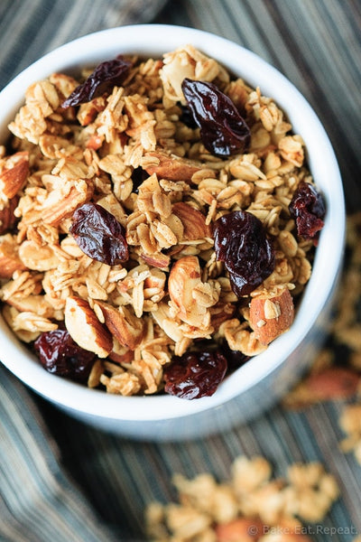 Cherry Granola with Almonds