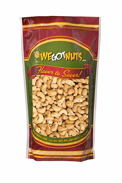 Deluxe Roasted Unsalted Cashews