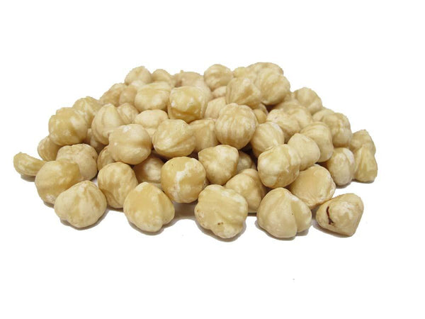 Raw blanched Filberts (Hazelnuts)