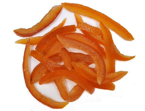 Glazed Orange Peel Strips