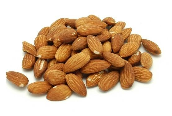 Dry Roasted Unsalted Shelled Almonds