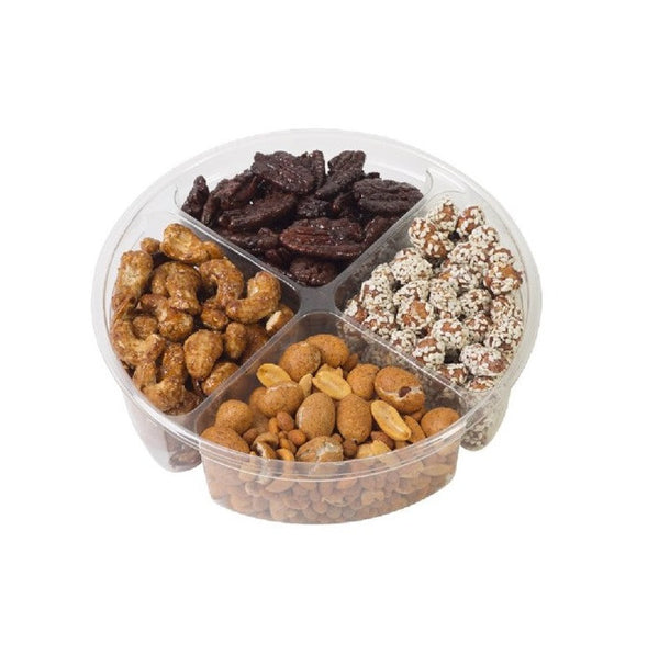 4-section Nuts Gift Tray for Any Occasion