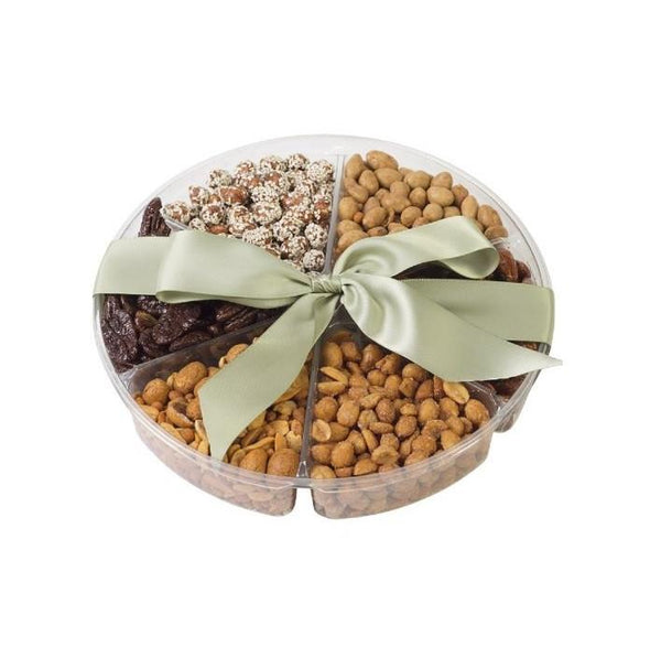 Six Section - Nuts Gift Tray for Any Occasion