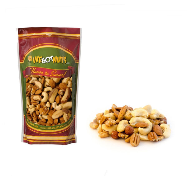 Shelled Fancy Raw Mixed Nuts
