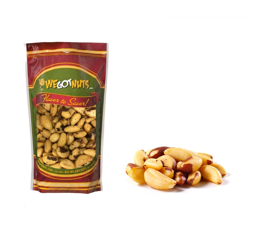 Shelled Roasted Salted Brazil Nuts