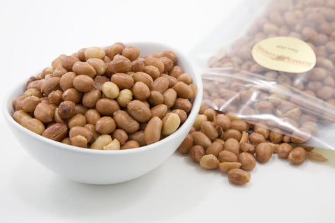 Oil roasted unsalted Spanish Peanuts