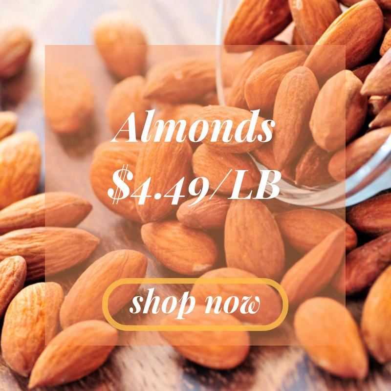 Raw Almonds In Shell