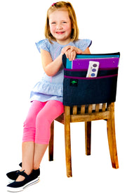 Aussie Pouch Seat Sacks Classroom Chair Pockets