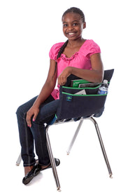 Aussie Pouch makes student chair pockets and seat sacks for students of all ages