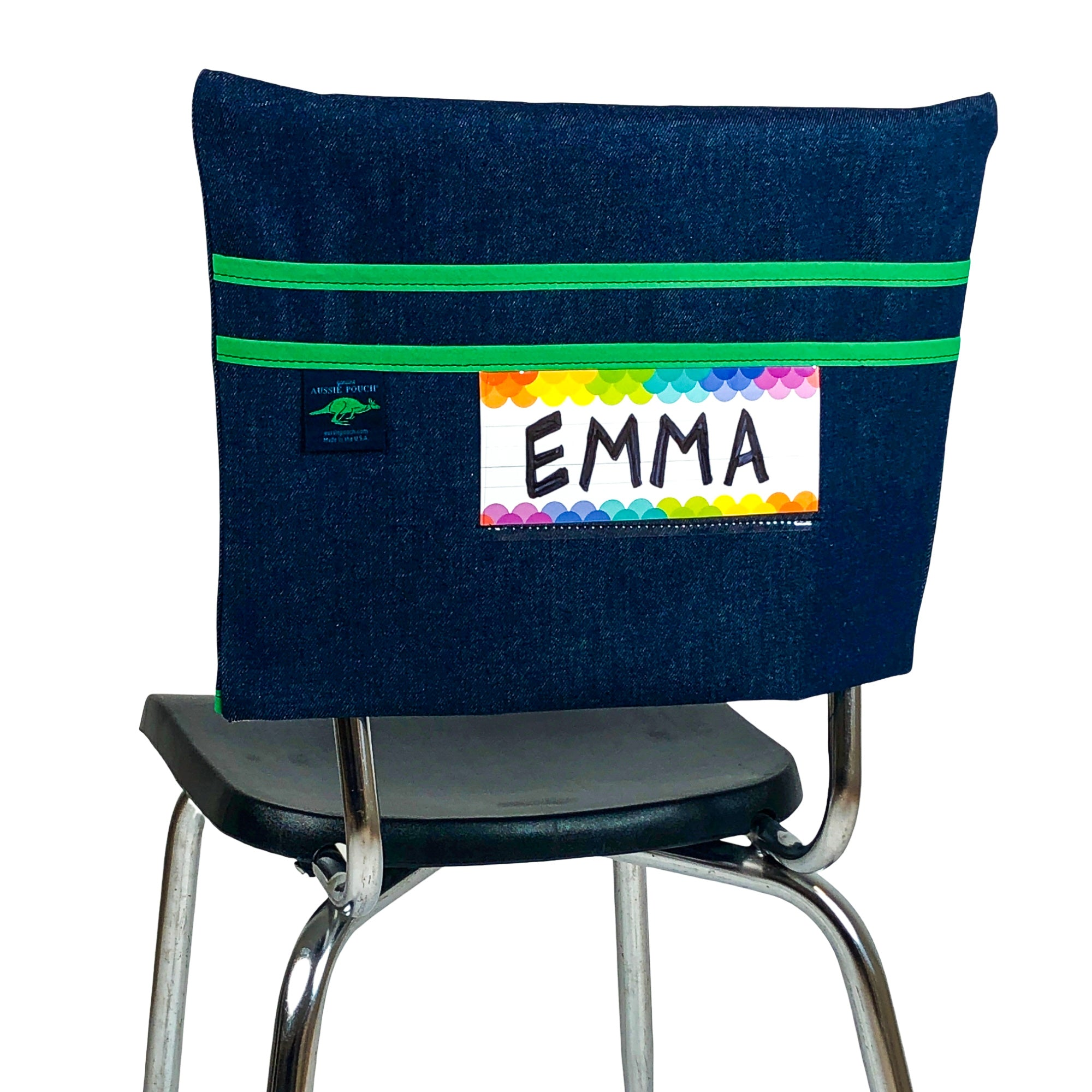 Classic Chair Pocket with Name Tag Holder