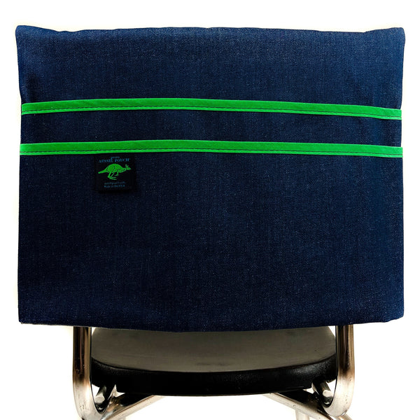 Aussie Pouch Classic Chair Pocket Green Trim