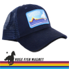 Deep Blue Streamer Hat MCS