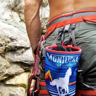 montucky chalk bag climbing