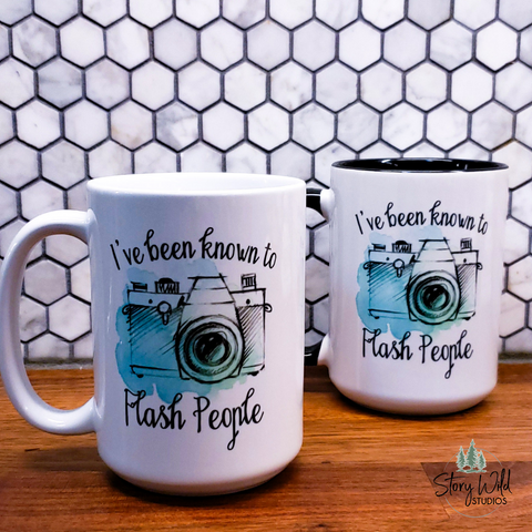 I Flash People 15 oz Mug