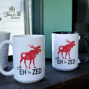 From Eh to Zed - A Canadian 15 oz Mug