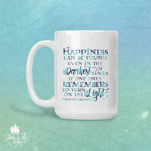 Happiness can be found -  Harry Potter 15 oz Mug
