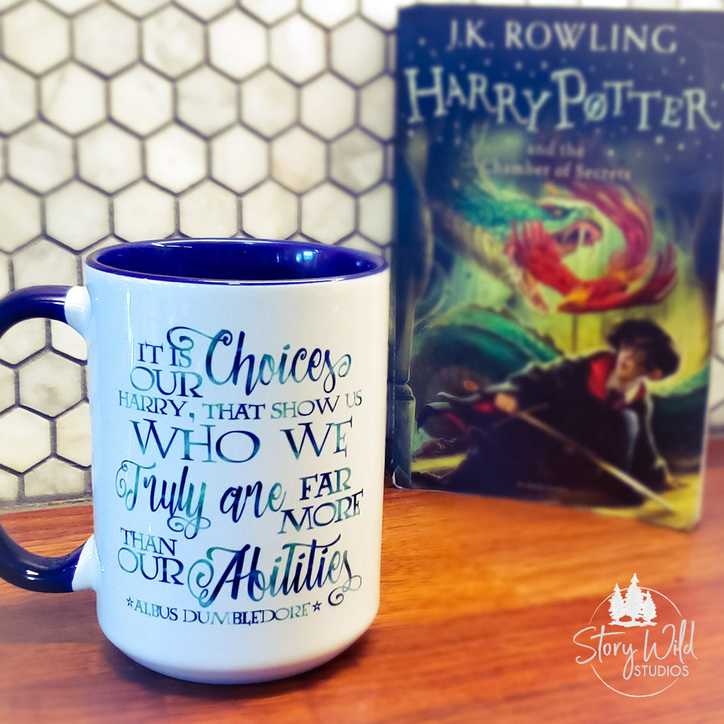 It is Our Choices - Harry Potter 15 oz Mug